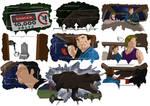 Jurassic Park Story Board T.rex Breakout