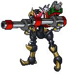 Shoutmon X3 Dark Cannons Mode (DCM) by SjuniorTai
