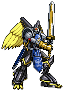 AlphaKnightmon by SjuniorTai
