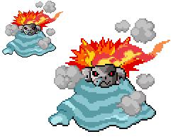Nameless Fire/Water type fakemon by SjuniorTai