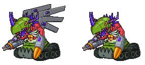 TankGreymon - The Digital War Machine! by SjuniorTai
