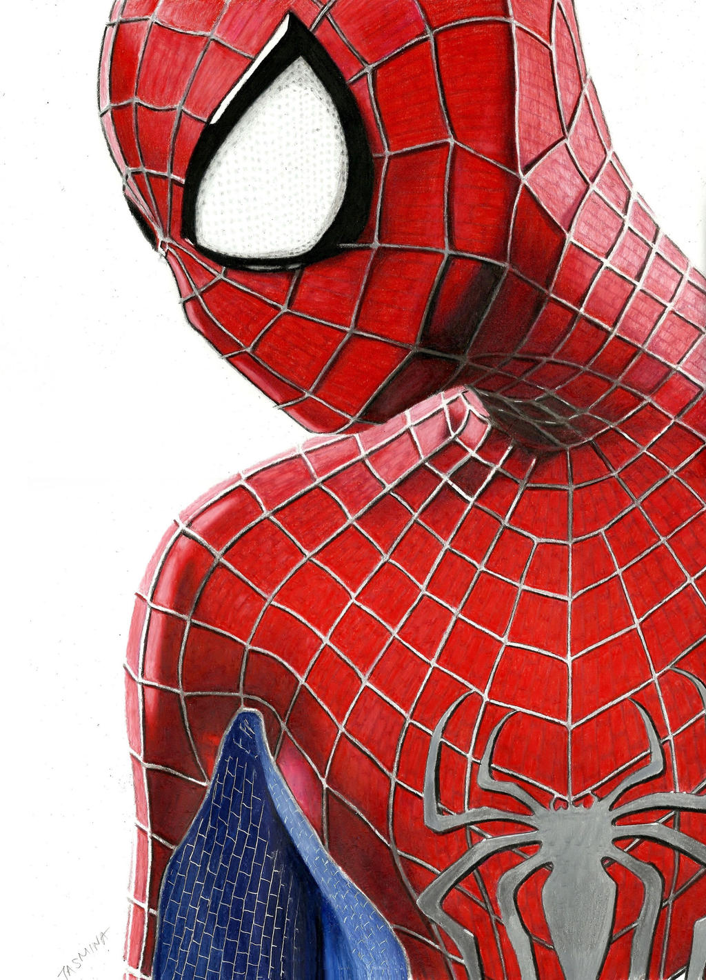 The Amazing Spider-Man 2 Colored Pencil Drawing By JasminaSusak On DeviantArt