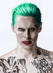 Colored Pencil Drawing of Jared Leto as The Joker