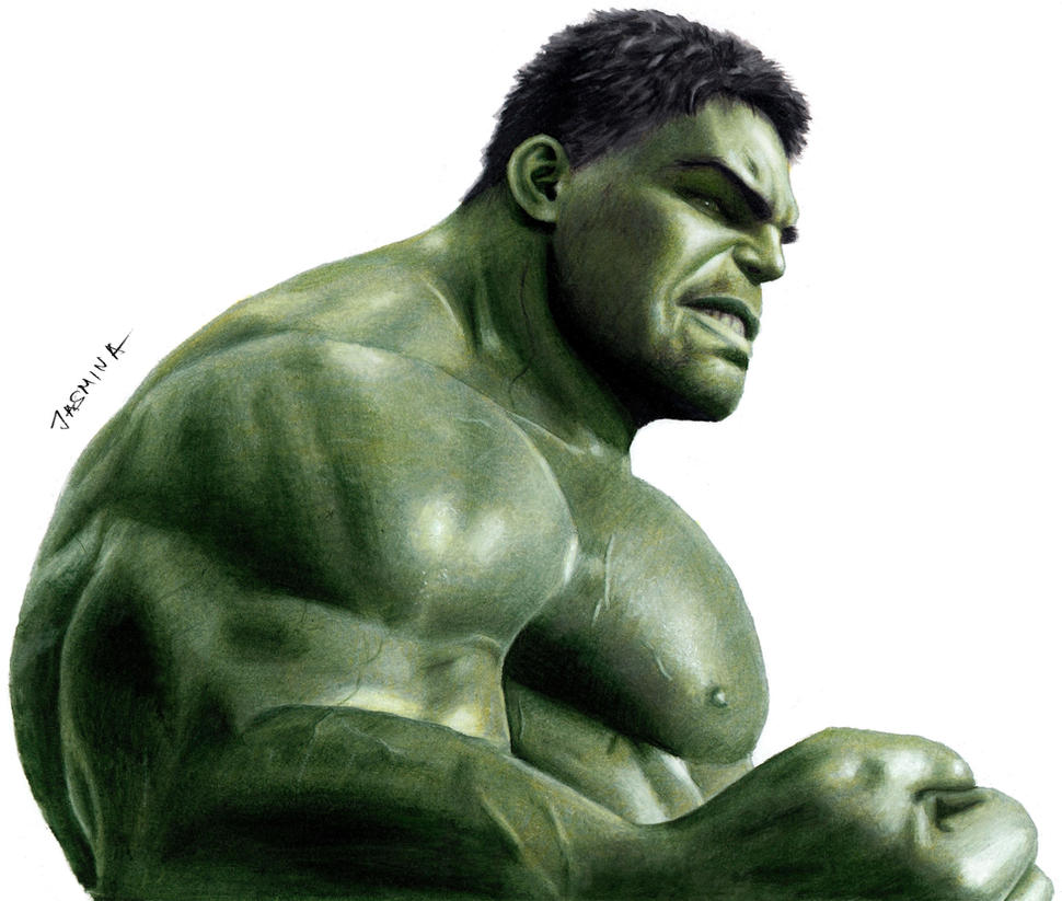 Colored Pencil Drawing Of Hulk In Thor Ragnarok By JasminaSusak On DeviantArt