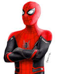 Drawing Spider-Man in NEW Suit Far From Home