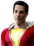 Colored pencil drawing: Shazam