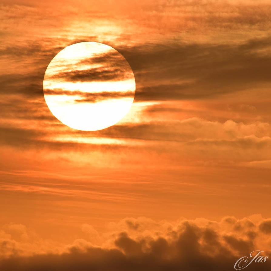 Warm Sunset at Debrecen