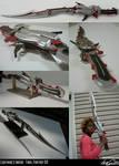 Lightnings gunblade -complete