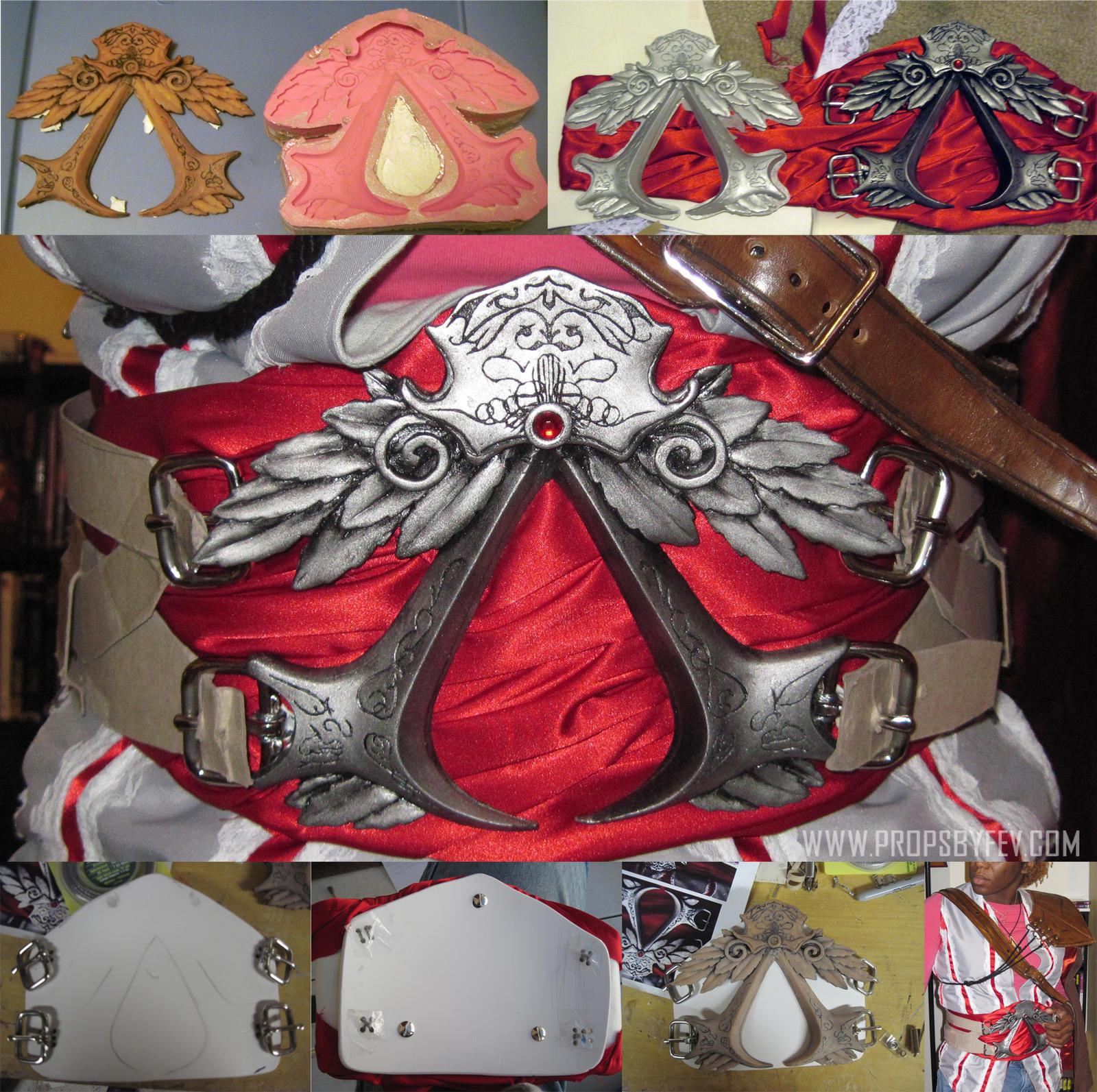 Ezio belt insignia by fevereon