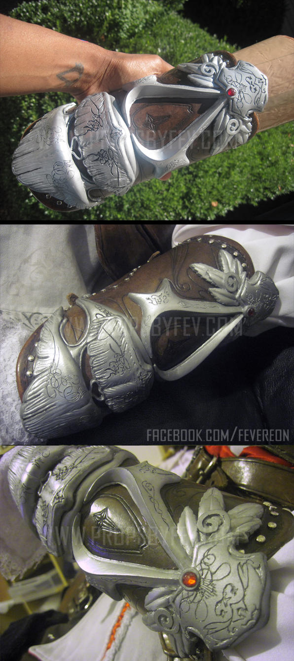AC2 cosplay- Left bracer by fevereon