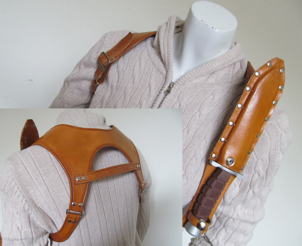 Resident evil- Claire's holster by fevereon
