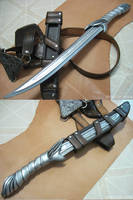 AC1- Altair's Short knife by fevereon