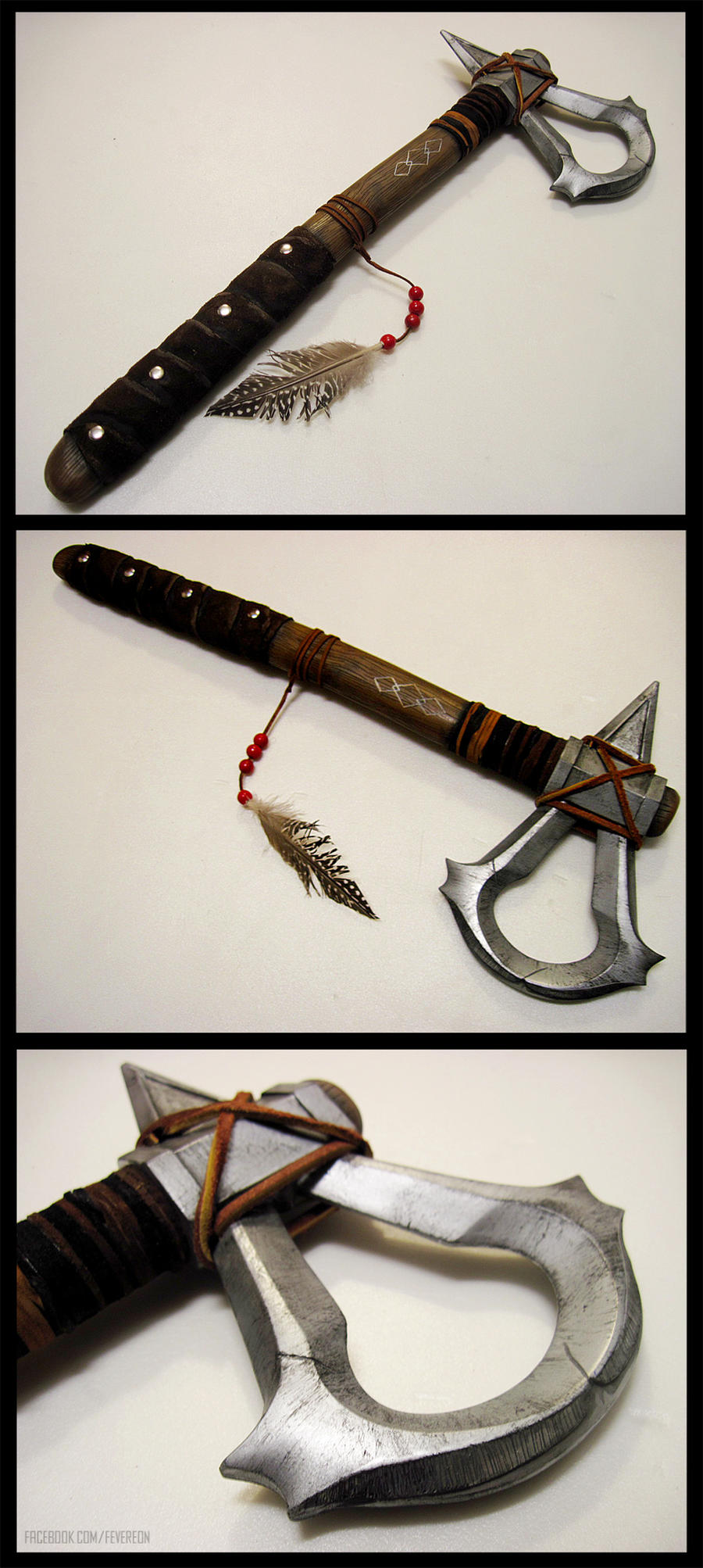 Assassins Creed III- Connor's tomahawk take 2! by fevereon