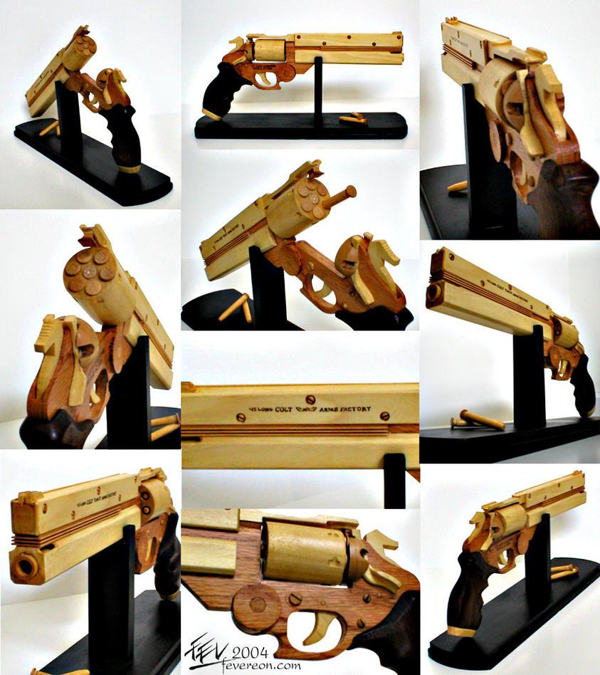 Trigun- Vash's gun Final by fevereon