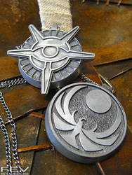 Skyrim pendants by fevereon