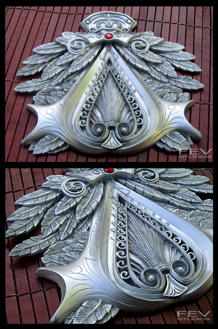 Assassins Creed Brotherhood Insignia by fevereon