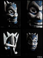 Blue Spirit Mask by fevereon