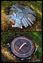 Skyrim- Nordic Shield by fevereon