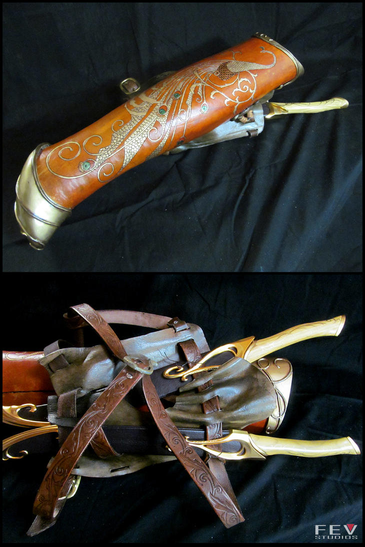 Legola's Quiver- LOTR by fevereon