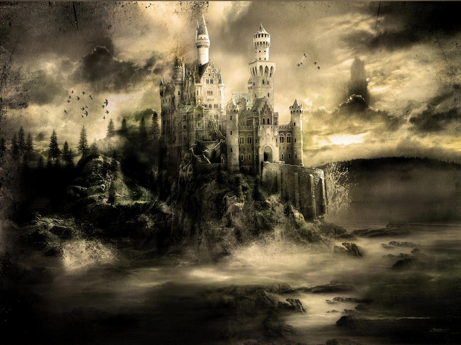 Mystical Castle by 666Kain-666 on DeviantArt