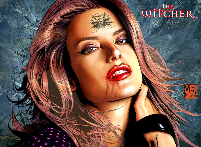 Witcher Fairy Tatoo by losromanos