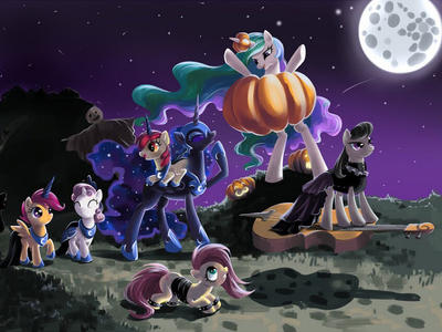 MLP Happy Halloween  by MelisaMCPE