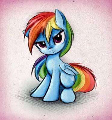 Rainbow Dash by MelisaMCPE