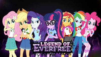 Mlp Legend of Everfree wallpaper  by MelisaMCPE