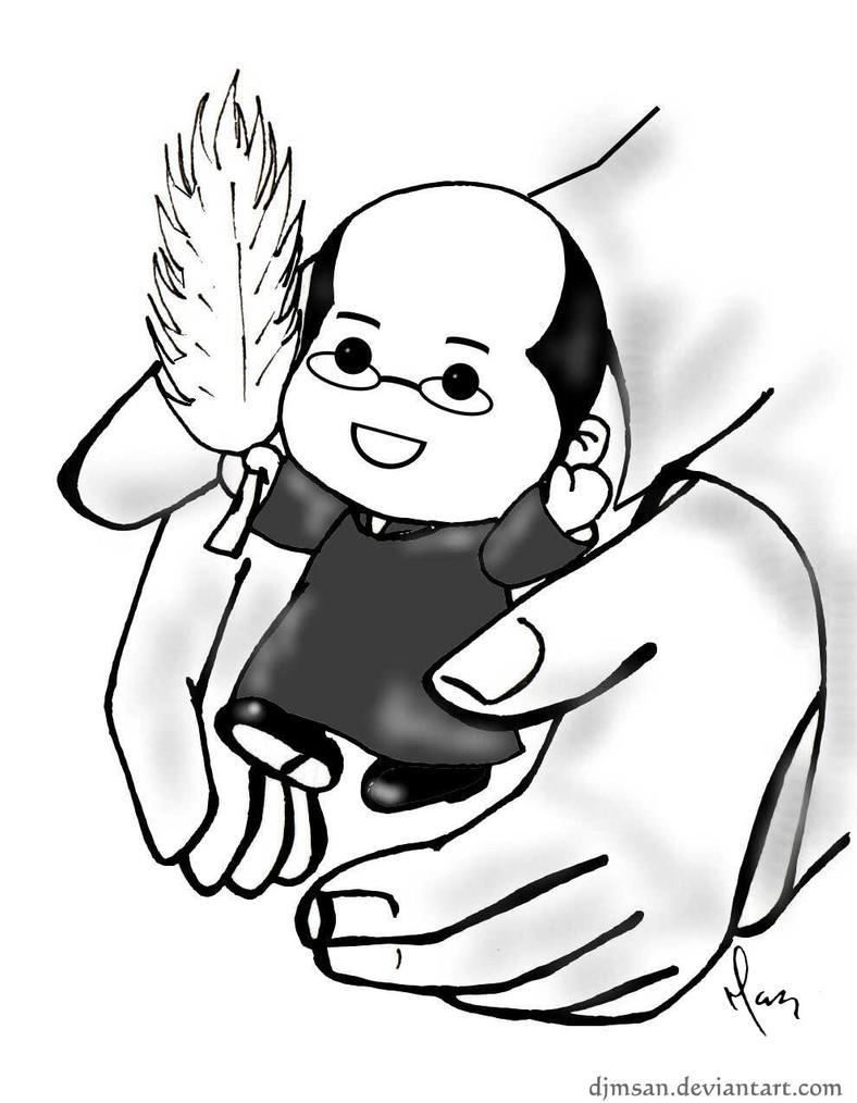 Don Pedro en las manos de Dios by djmsan