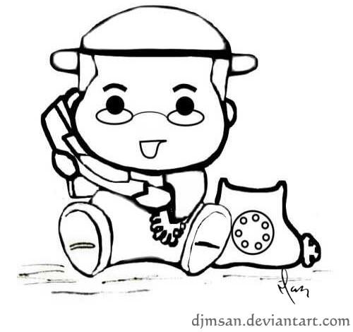 Don Pedro llamando linea by djmsan