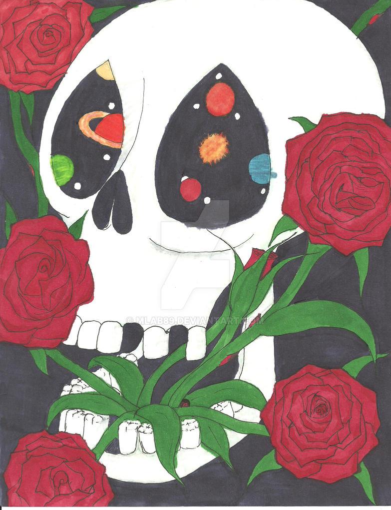 skull universe by mlab89