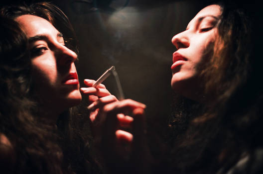 You don't smoke