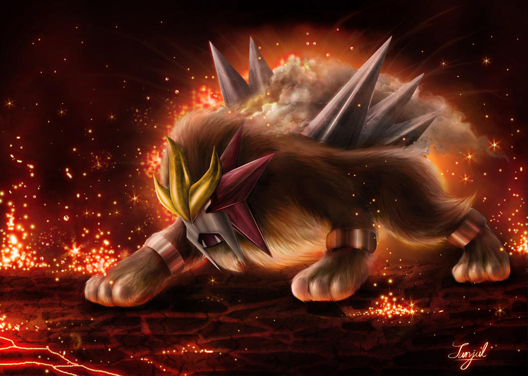 ENTEI by SanjulWhiteShadow on DeviantArt