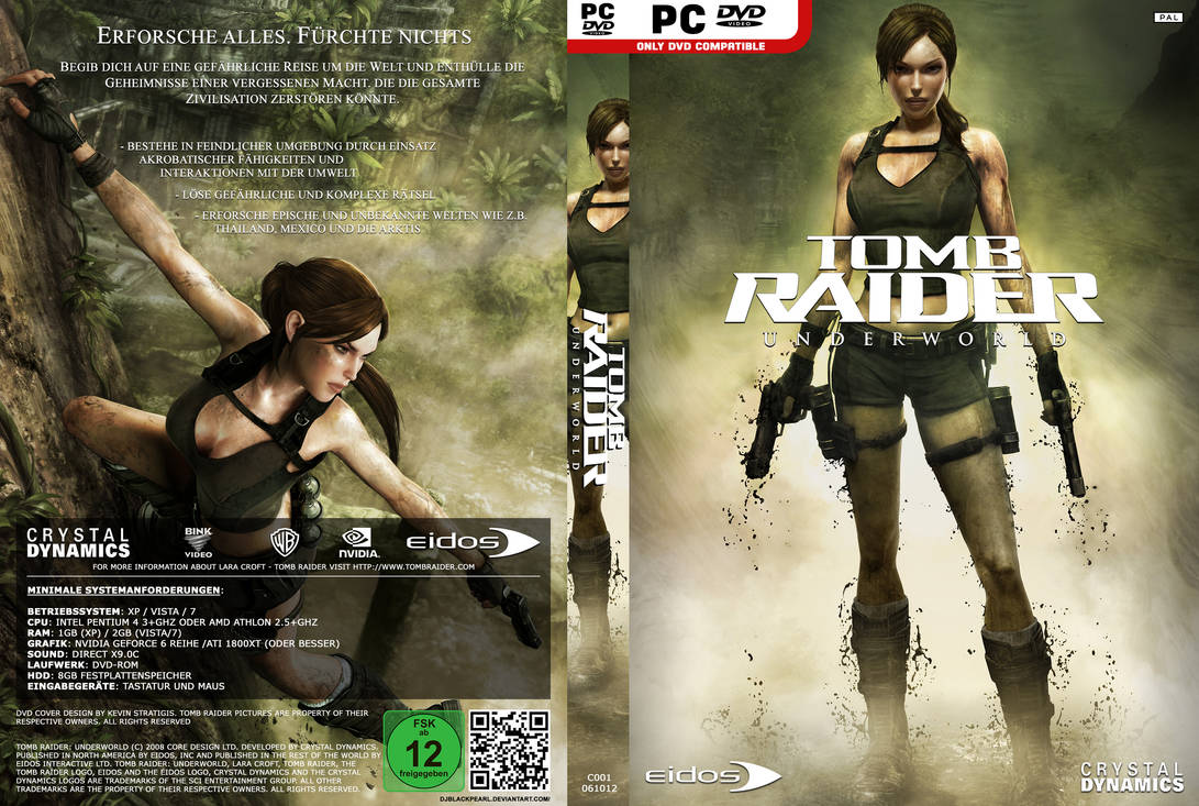 Tomb raider underworld dvd