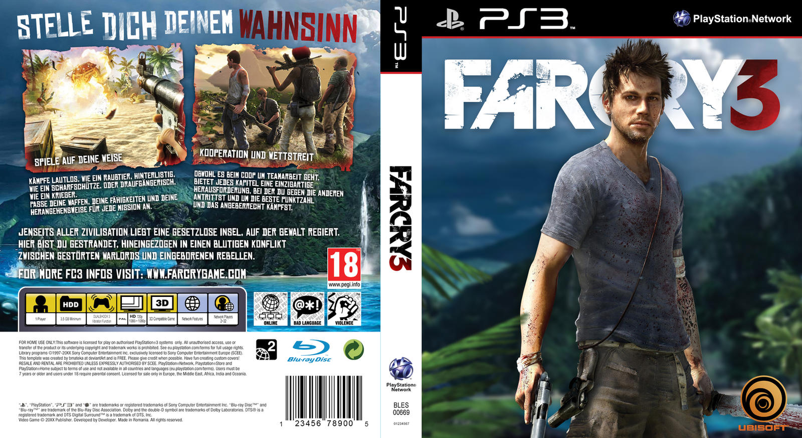how to run in far cry 3 ps3
