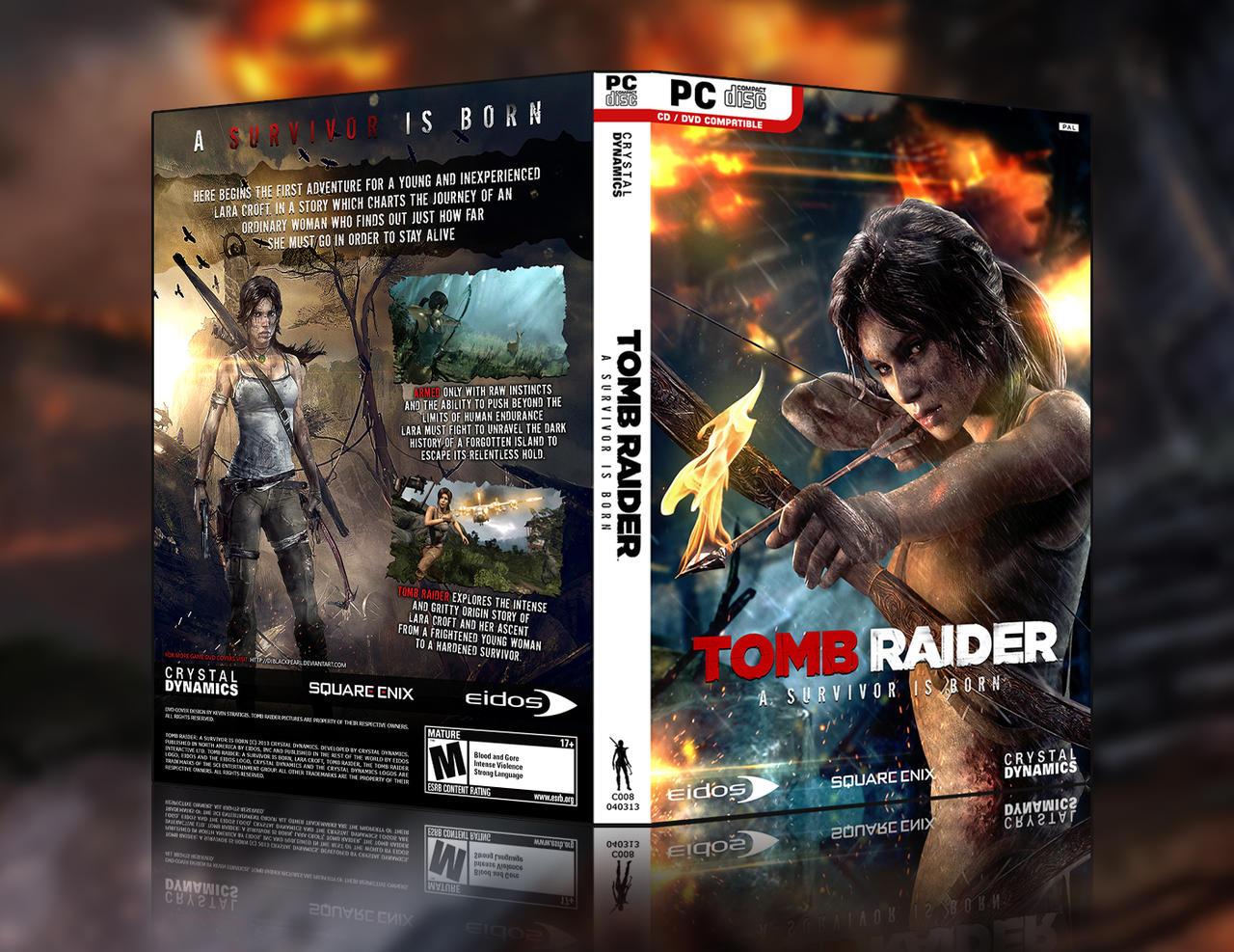 Tomb Raider: A Survivor Is Born - HD Custom Cover