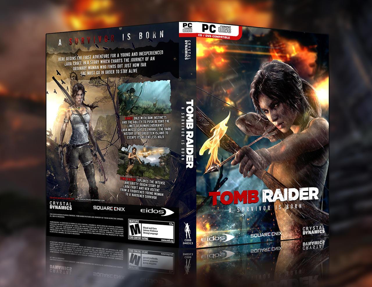 Tomb Raider: A Survivor Is Born - HD Custom Cover2