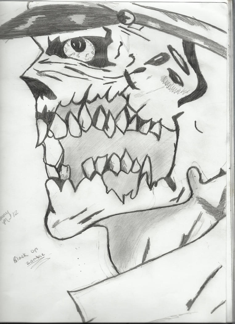 Black ops zombie by avengedsevenfold935 on deviantart for Black ops coloring pages