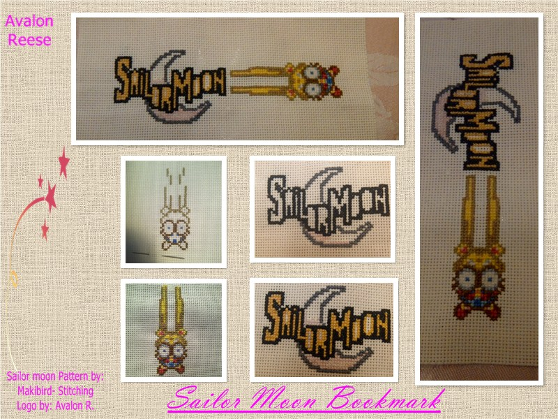 Sailor Moon Bookmark - Progress by AvalonReese