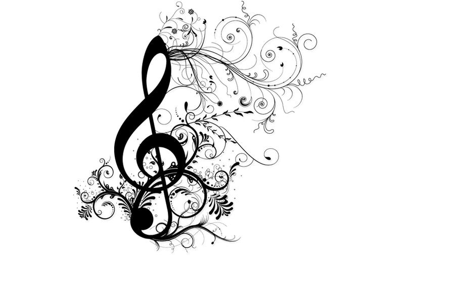 treble clef wallpaper