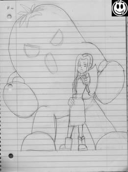 [wip sketch] Mimi's Bizarre Adventure