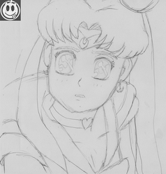 [wip, sketch] sailor Moon redraw