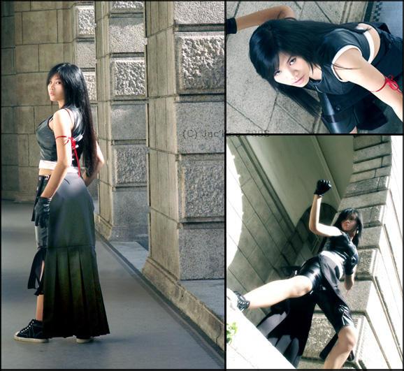 Tifa Lockheart AC Cosplay by JialingPan