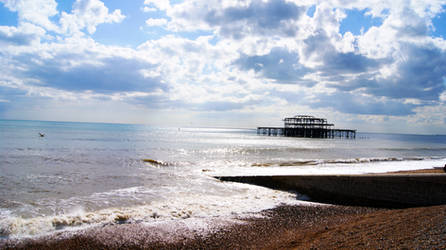 Brighton beachfront by kain-hallis