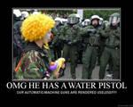 Clown vs the human race