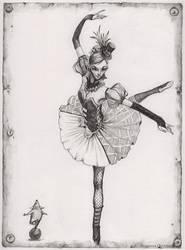 Circus ballet dancer. by Nastasja007