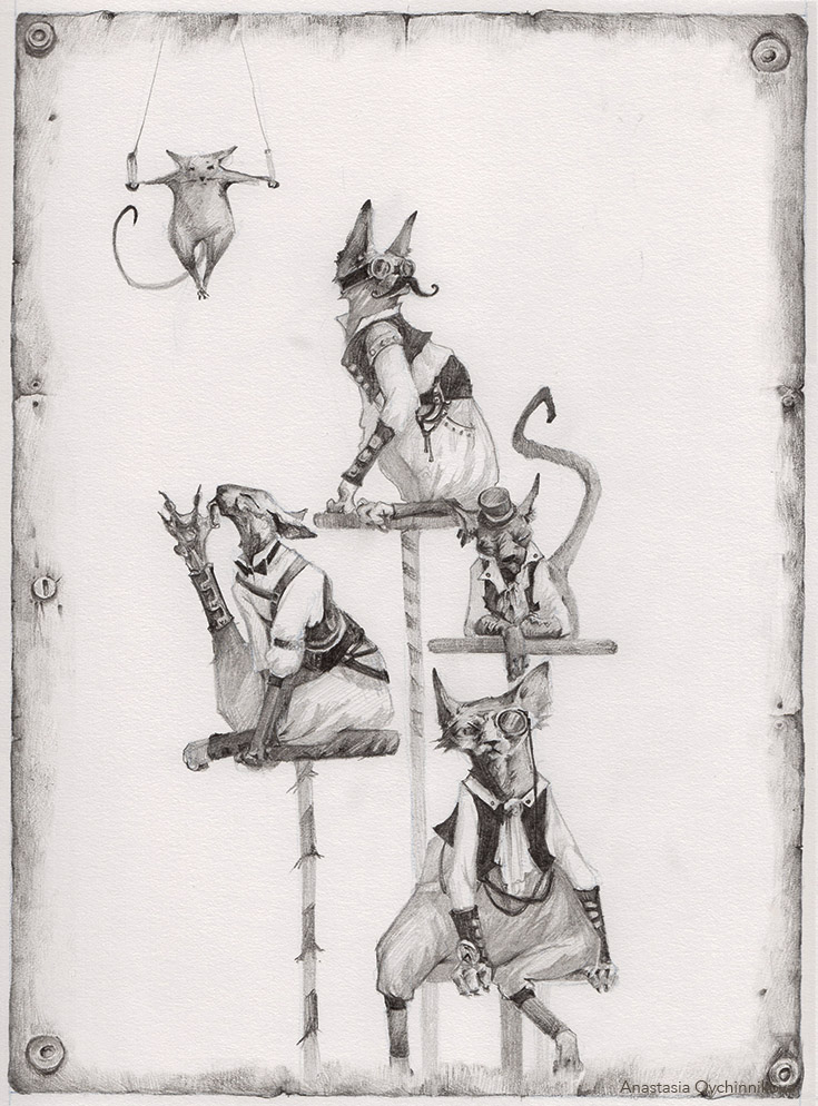 The Cats. by Nastasja007