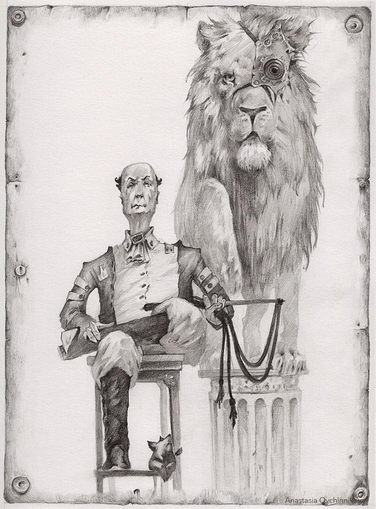 Lion Tamer. by Nastasja007