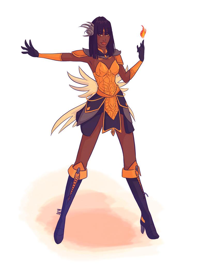 Pretty Soldier Sailor Seraph by vertigale