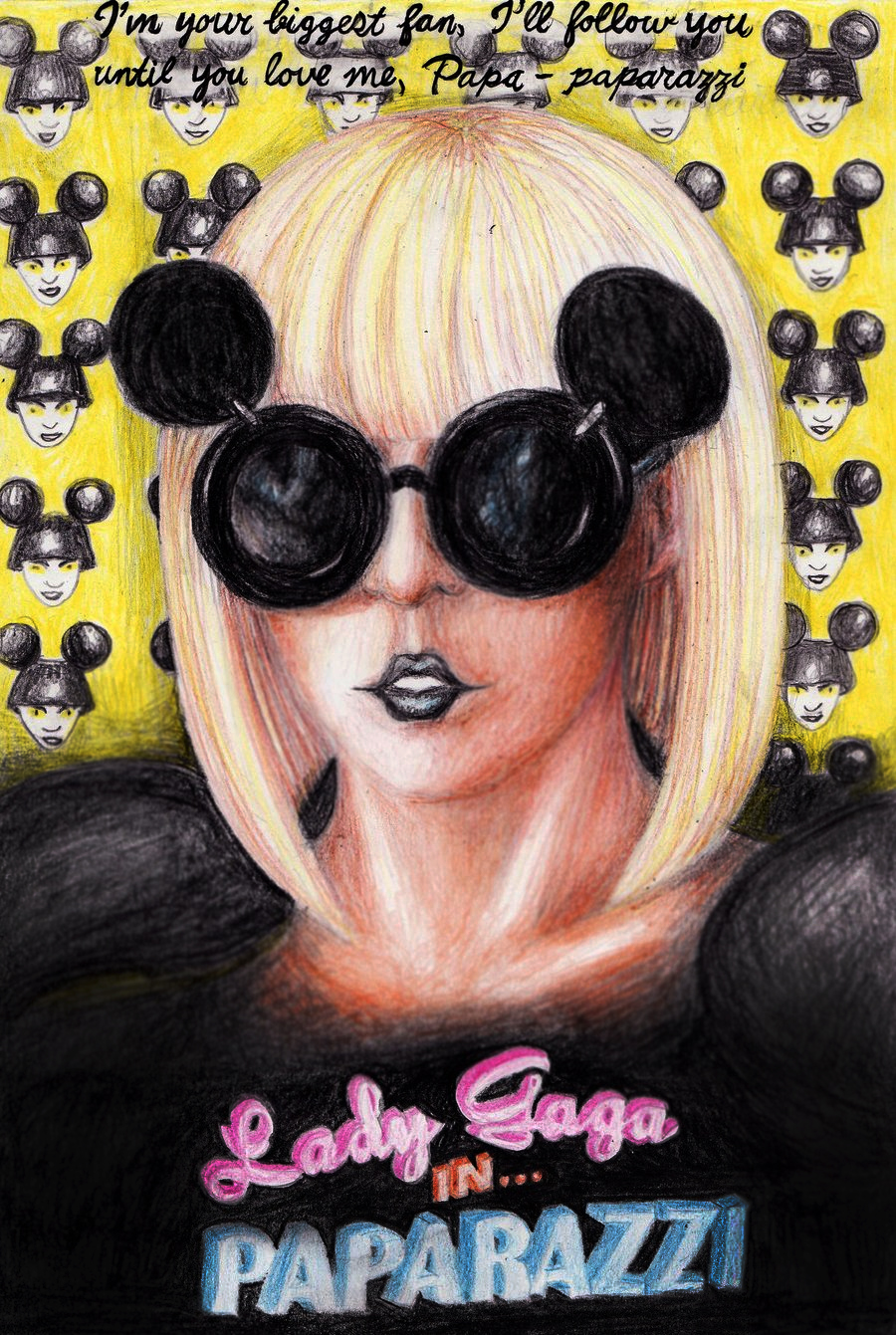 Lady GaGa in Paparazzi by marvin102019 on DeviantArt